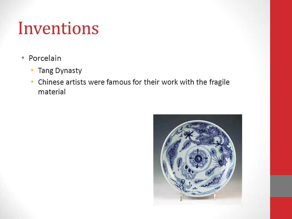 Inventions Porcelain Tang Dynasty