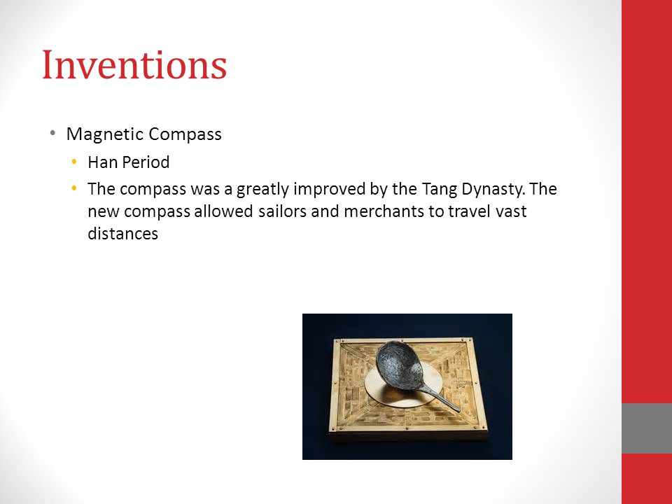 Inventions Magnetic Compass Han Period