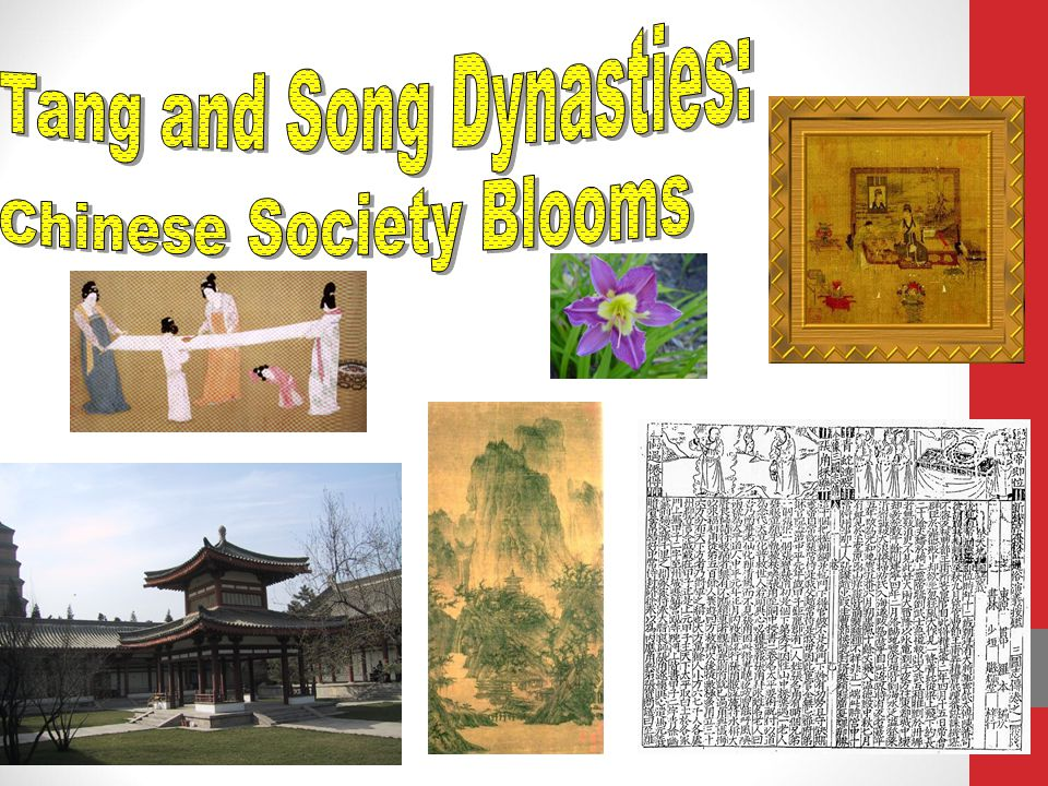 Tang and Song Dynasties:
