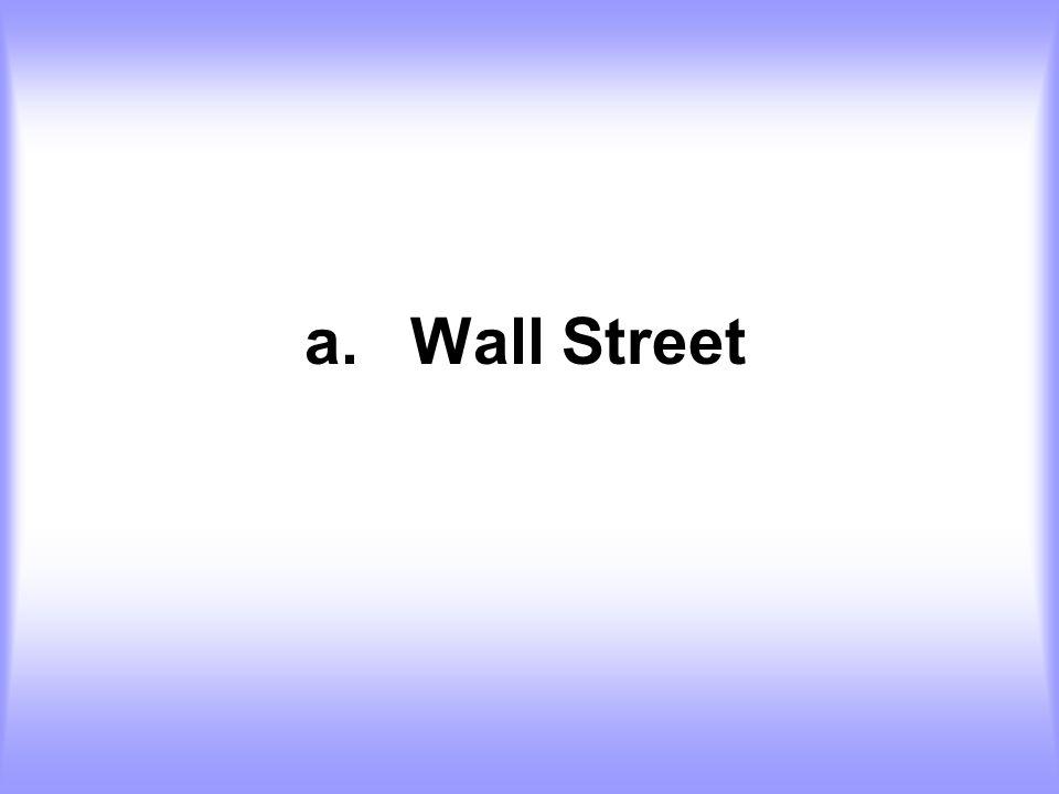 a. Wall Street