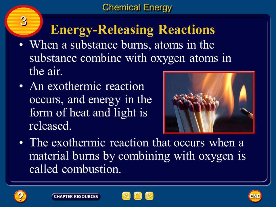 Energy-Releasing Reactions