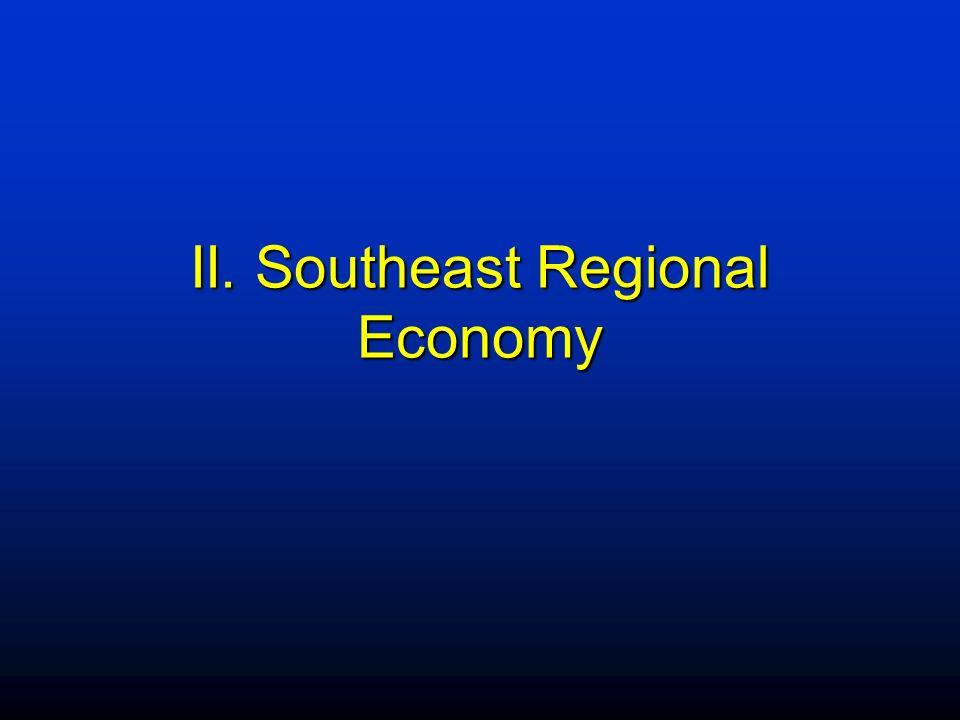 II. Southeast Regional Economy