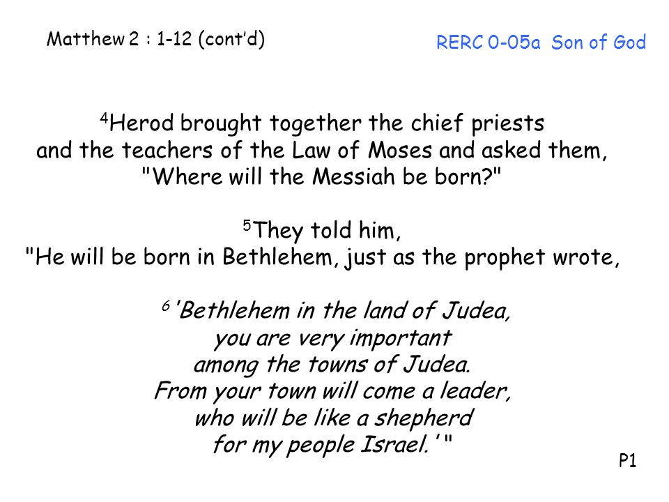 4Herod brought together the chief priests