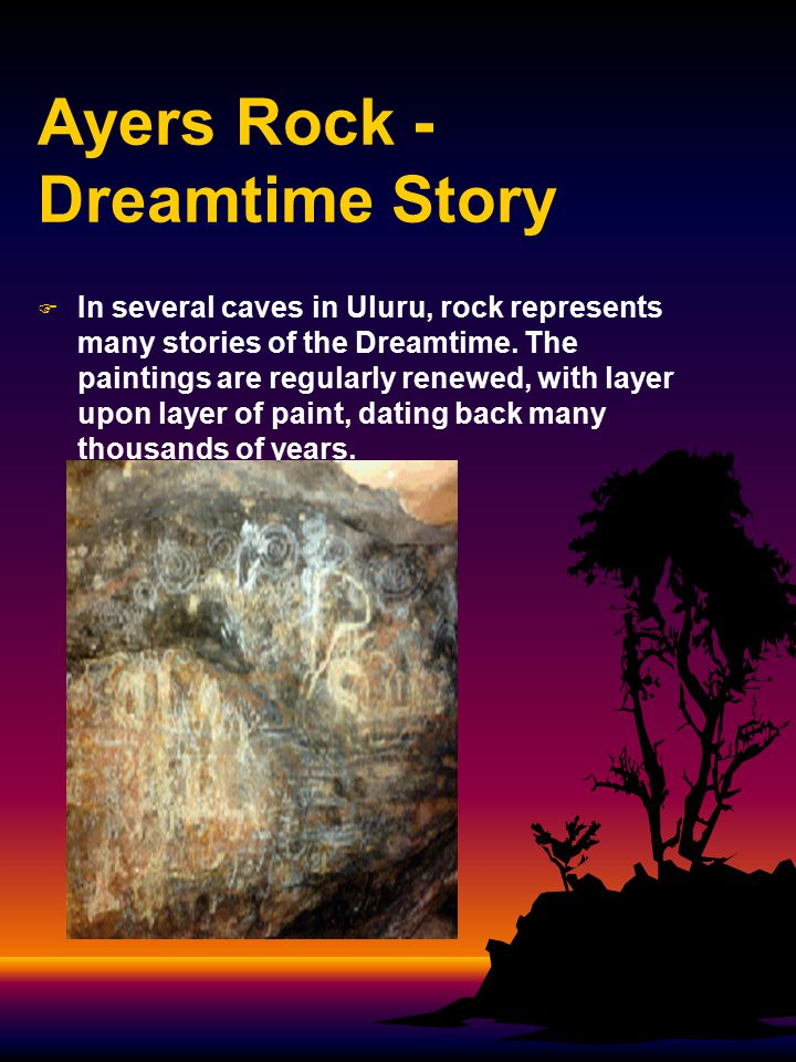 Ayers Rock - Dreamtime Story