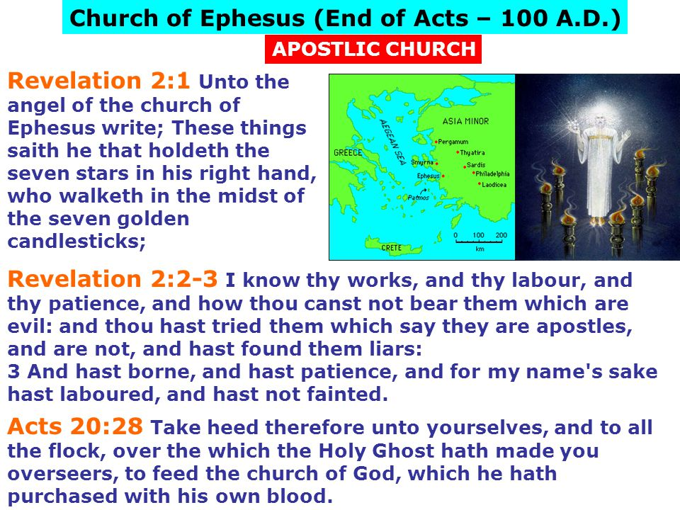 Church of Ephesus (End of Acts – 100 A.D.)