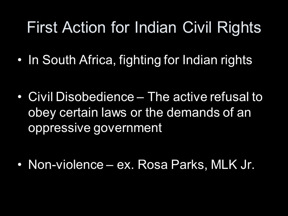 First Action for Indian Civil Rights