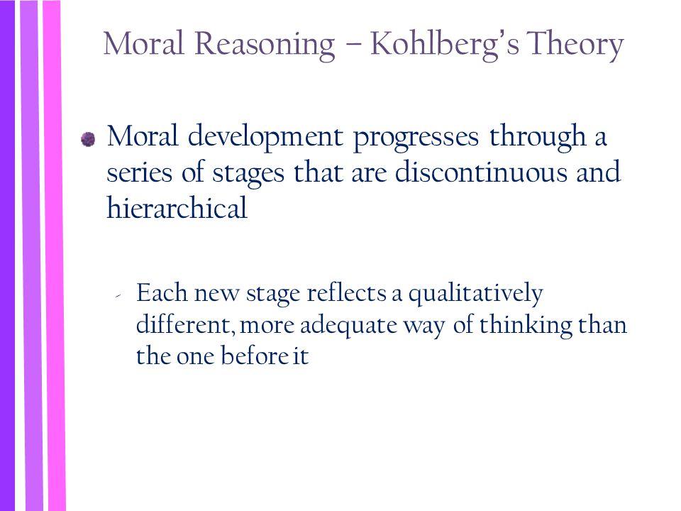 Moral Reasoning – Kohlberg's Theory