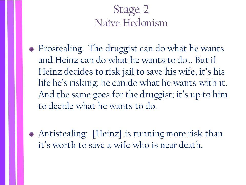 Stage 2 Naïve Hedonism