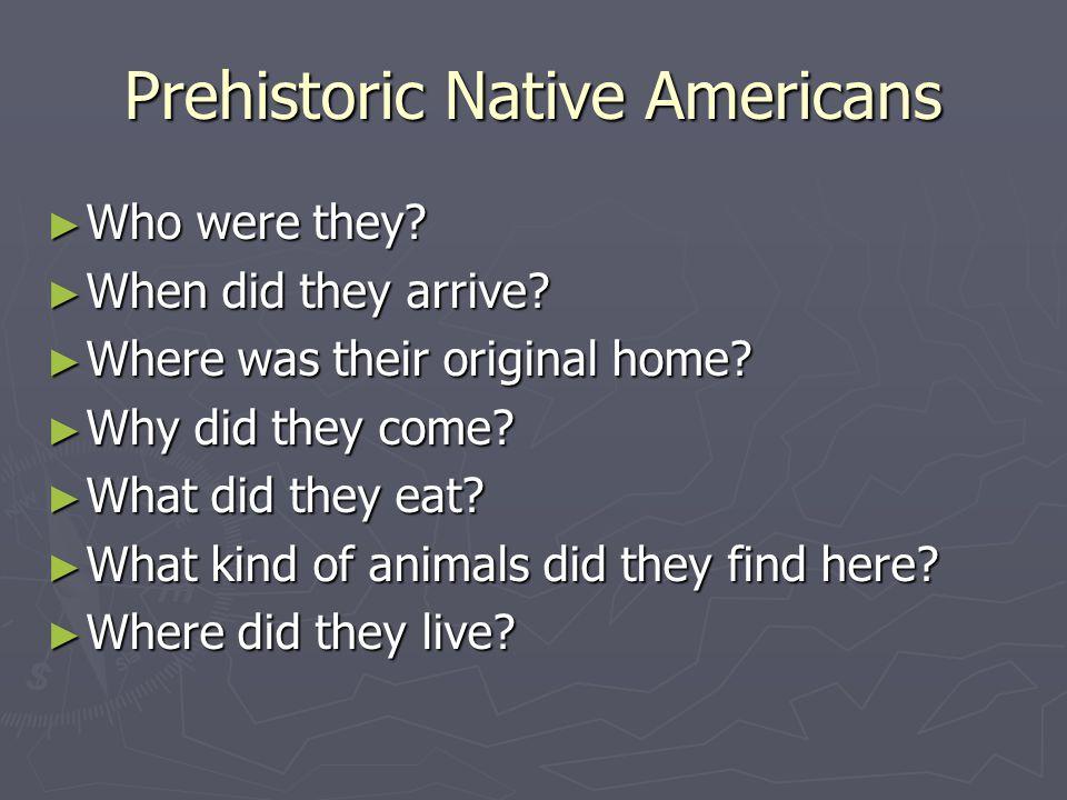 Prehistoric Native Americans