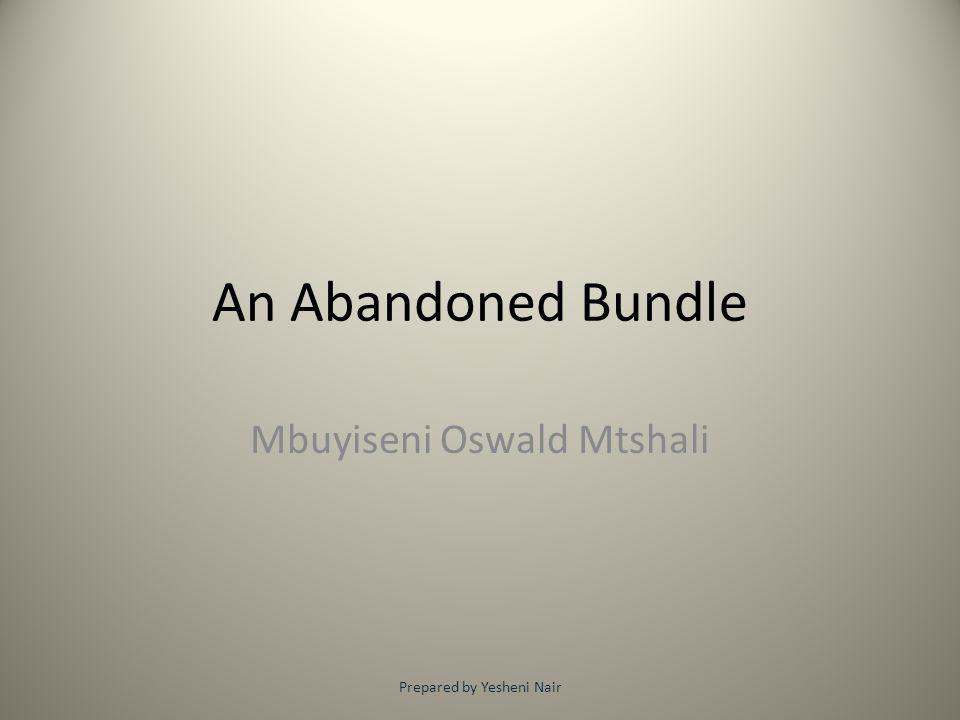 Mbuyiseni Oswald Mtshali