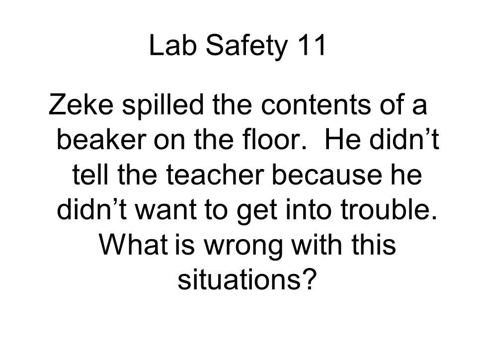 Lab Safety 11