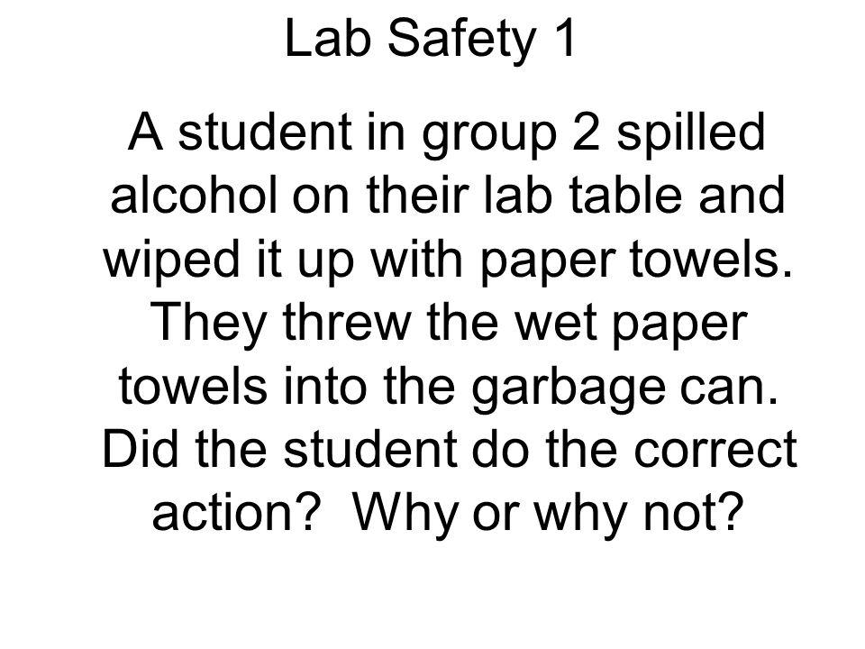 Lab Safety 1