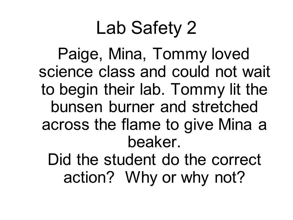Lab Safety 2
