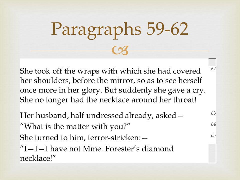 Paragraphs 59-62