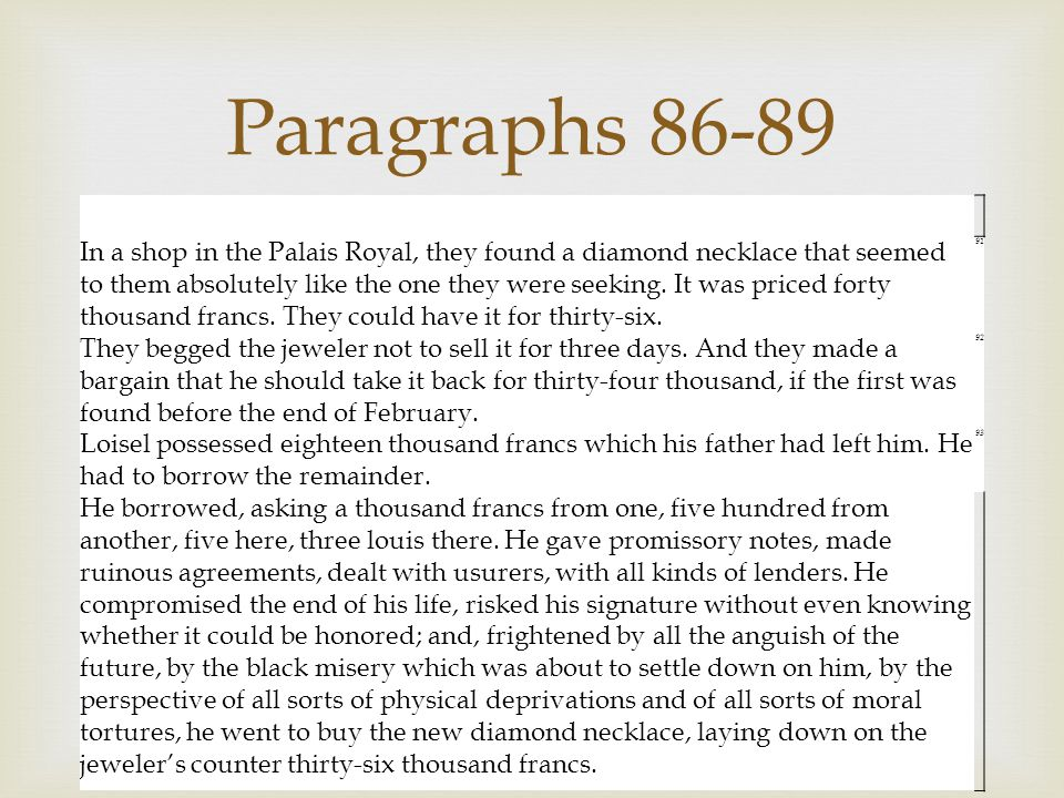 Paragraphs 86-89