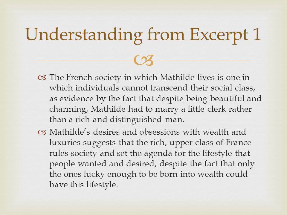 Understanding from Excerpt 1