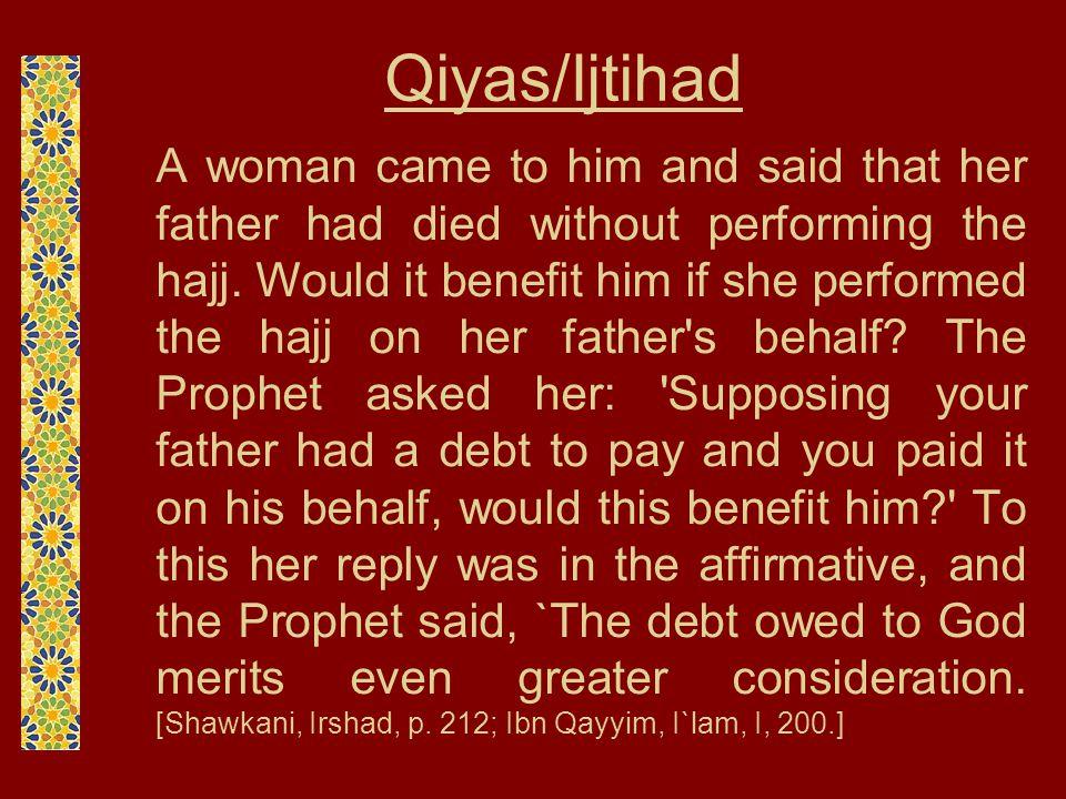Qiyas/Ijtihad