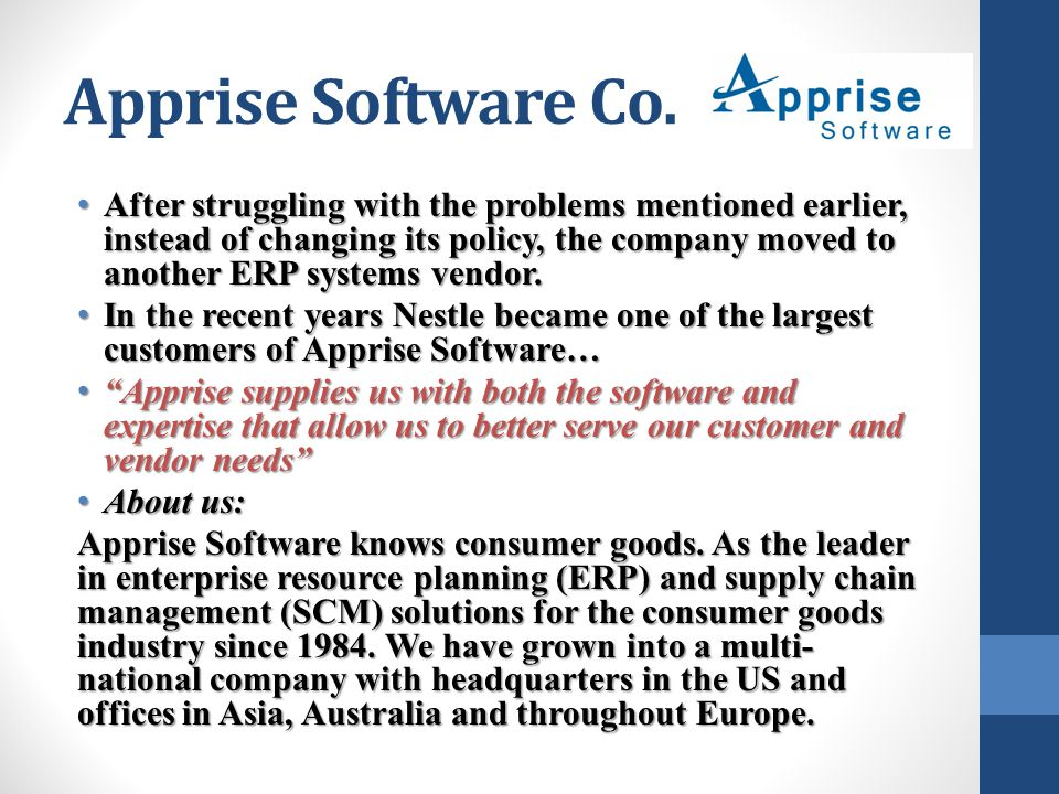 Apprise Software Co.