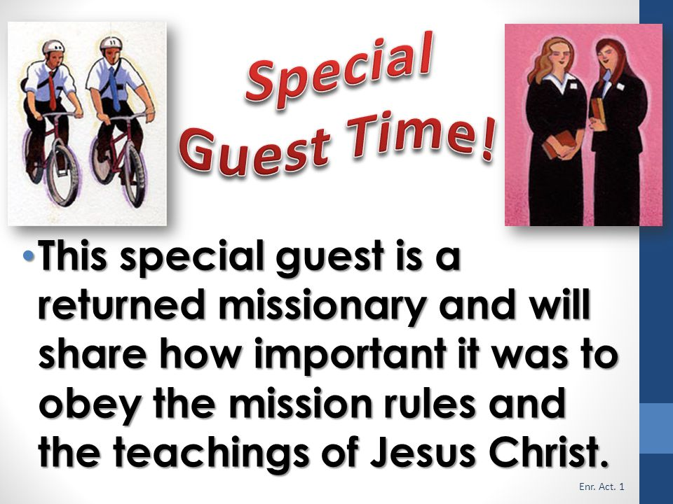 Special Guest Time!