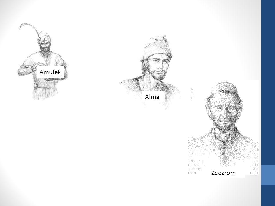 Amulek Alma Zeezrom
