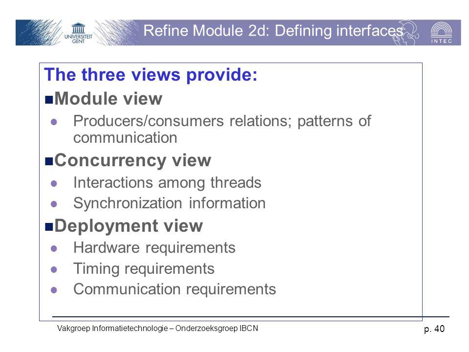 Refine Module 2d: Defining interfaces
