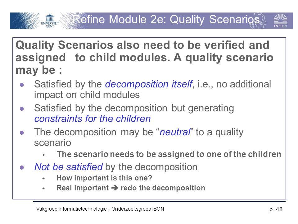 Refine Module 2e: Quality Scenarios