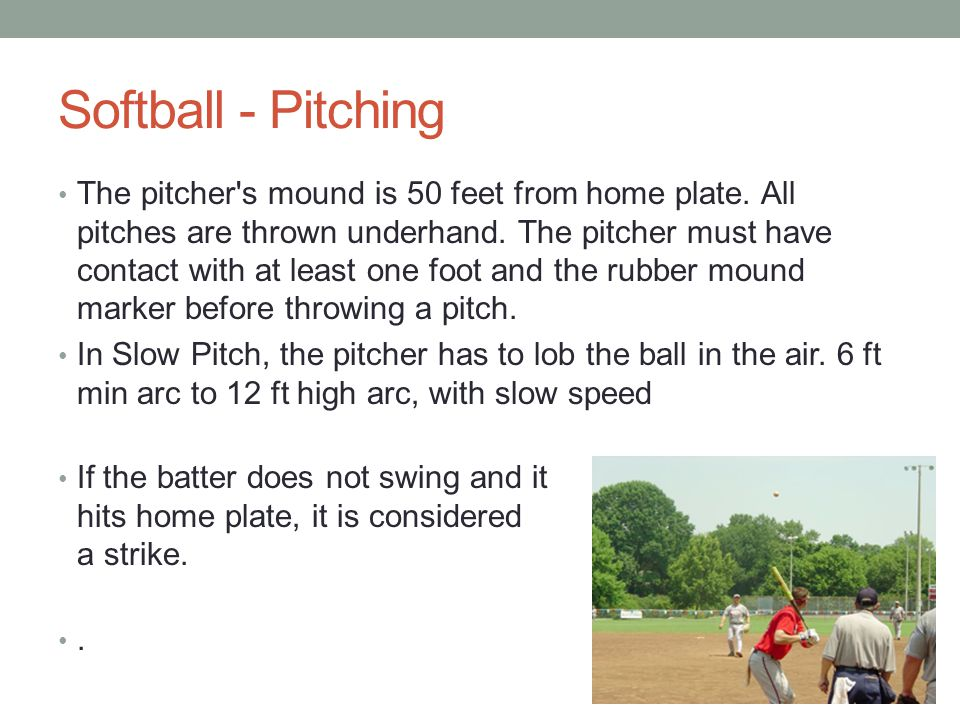 Softball - Pitching