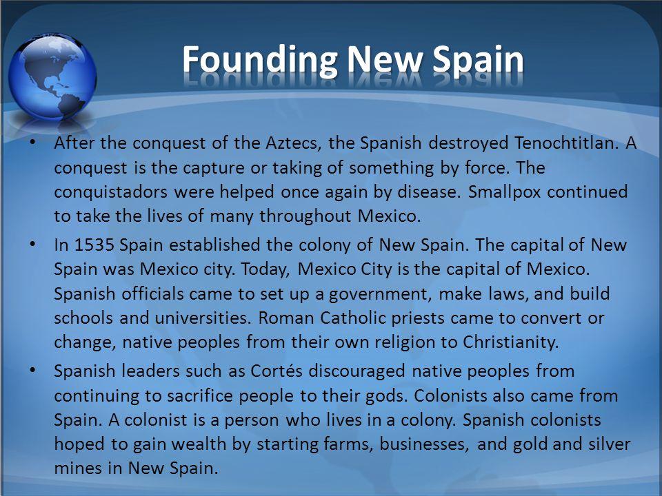 Founding New Spain