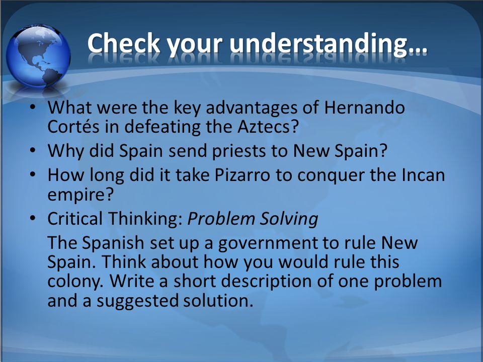Check your understanding…
