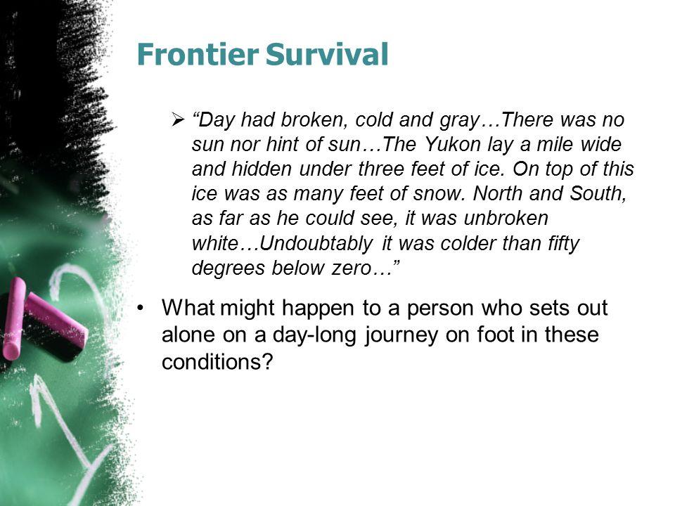 Frontier Survival