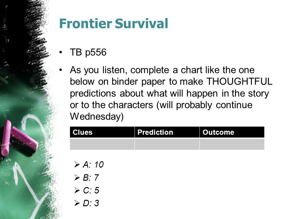 Frontier Survival TB p556.