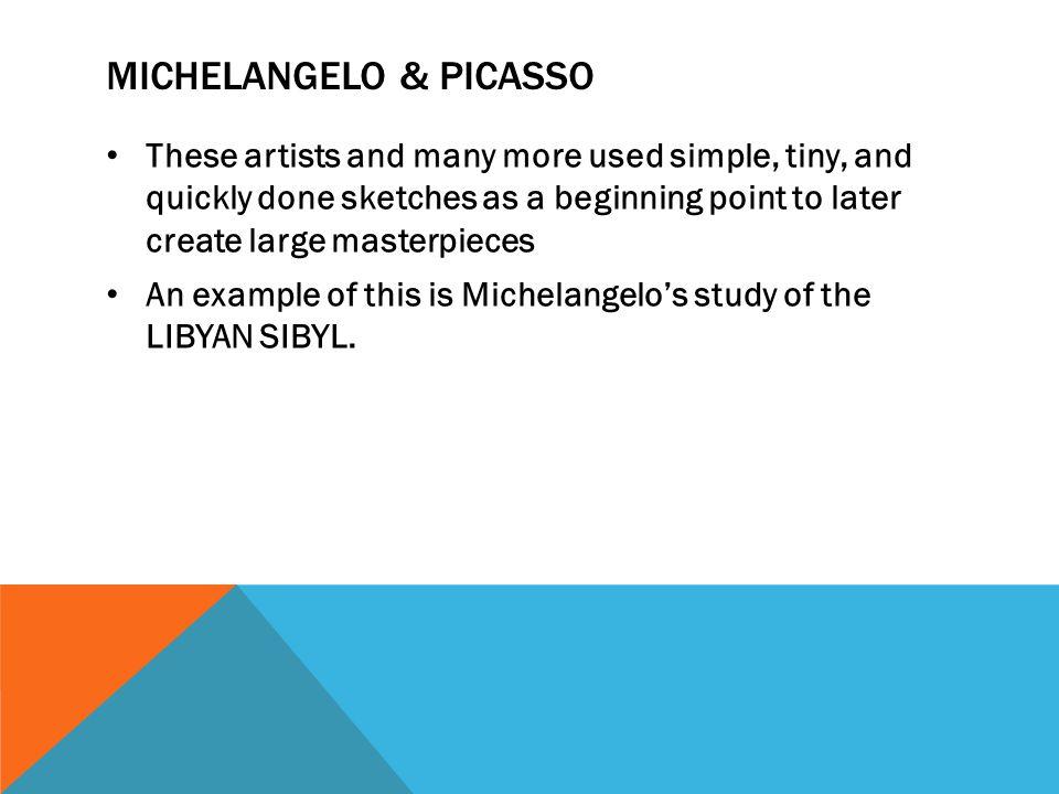 Michelangelo & Picasso