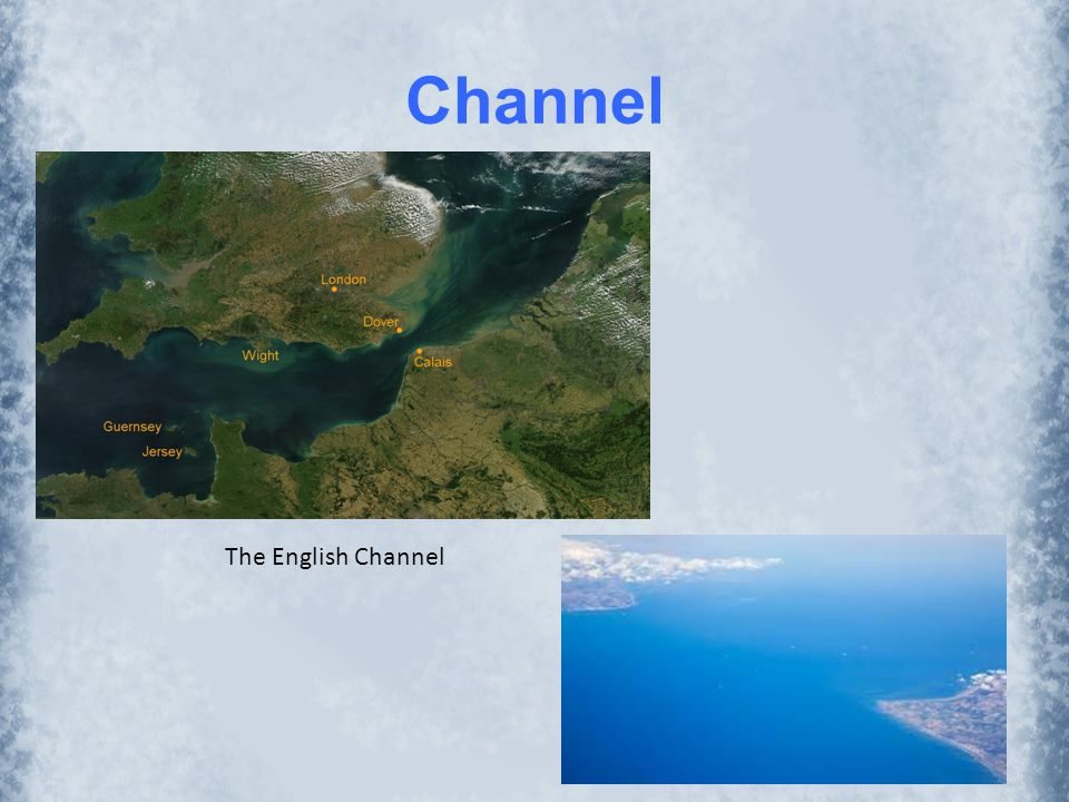 Channel The English Channel