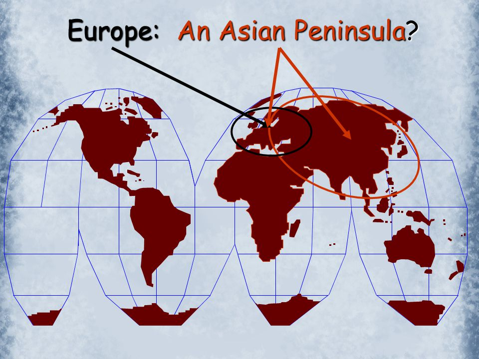 Europe: An Asian Peninsula