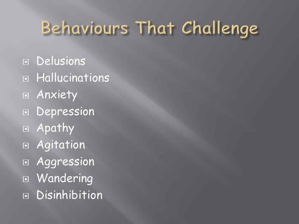Behaviours That Challenge