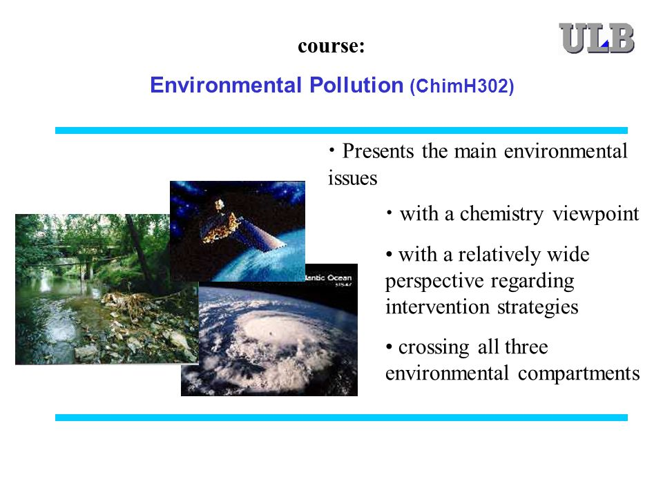 Environmental Pollution (ChimH302)