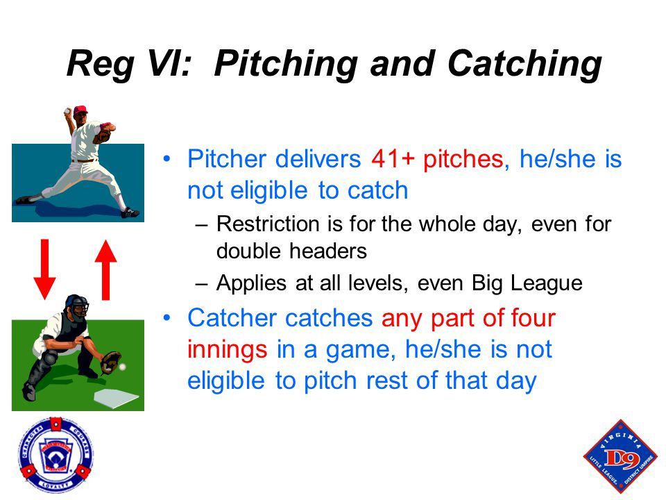 Reg VI: Pitching and Catching