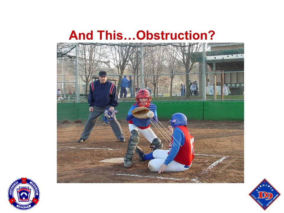 And This…Obstruction 110