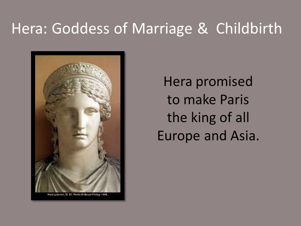 Hera: Goddess of Marriage & Childbirth