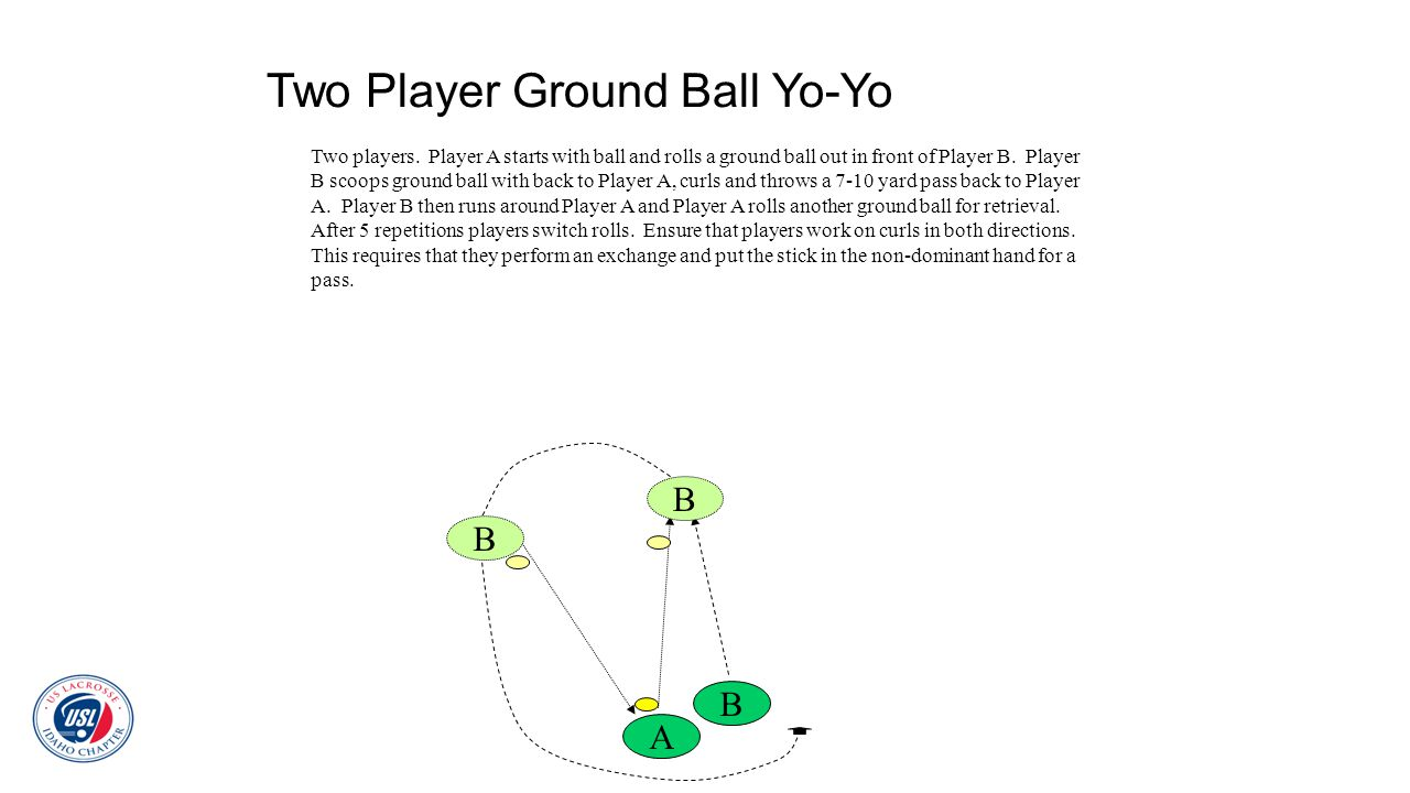 Two Player Ground Ball Yo-Yo