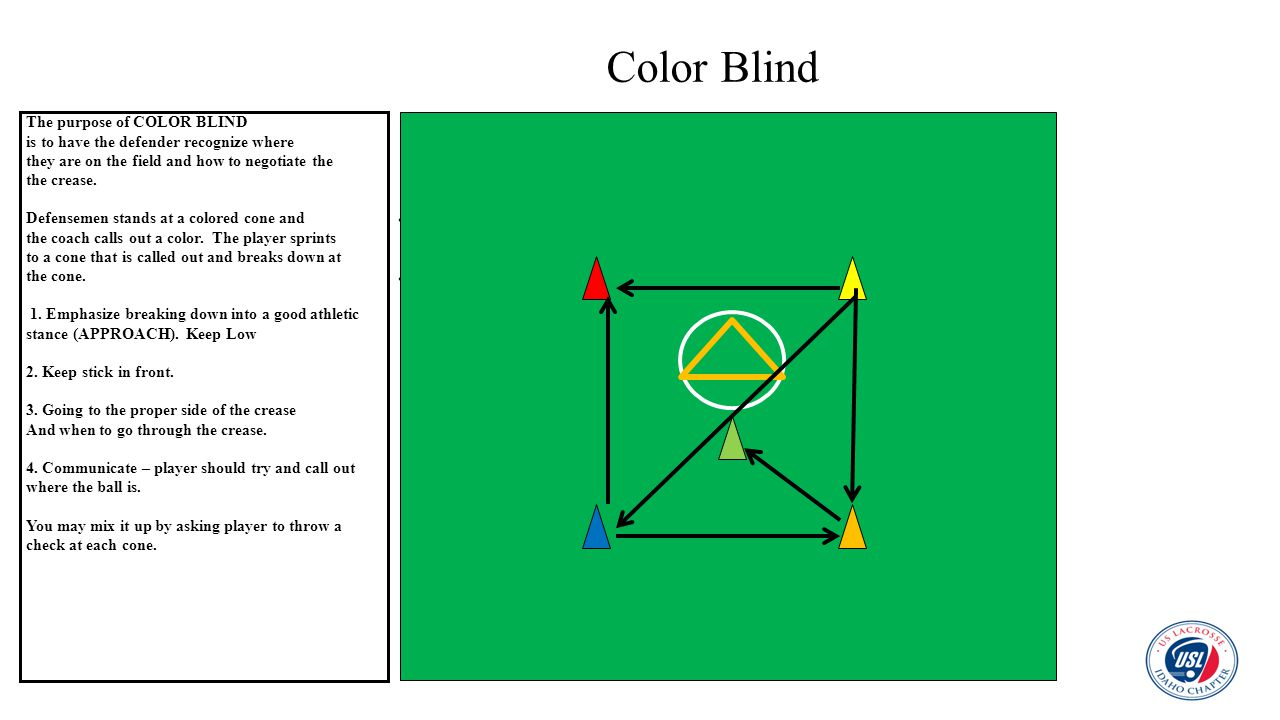 Color Blind The purpose of COLOR BLIND
