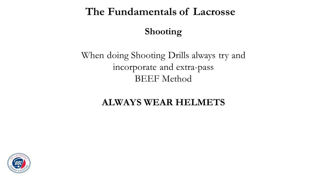 The Fundamentals of Lacrosse