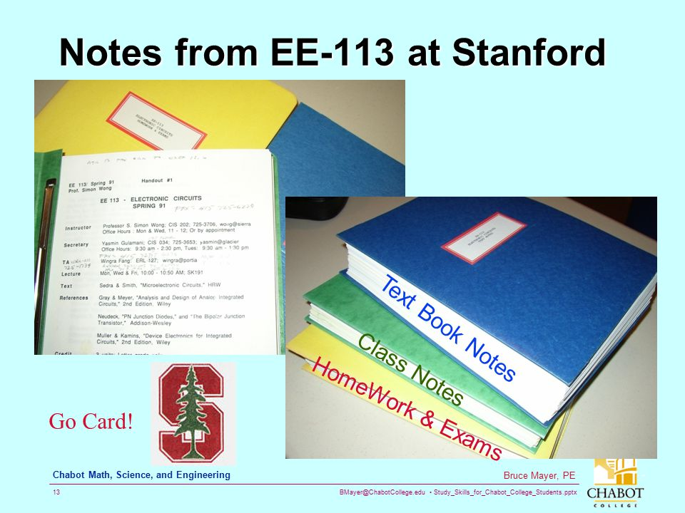 Notes from EE-113 at Stanford