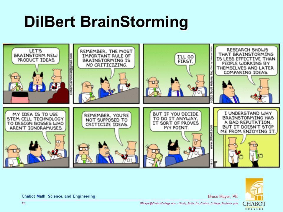 DilBert BrainStorming