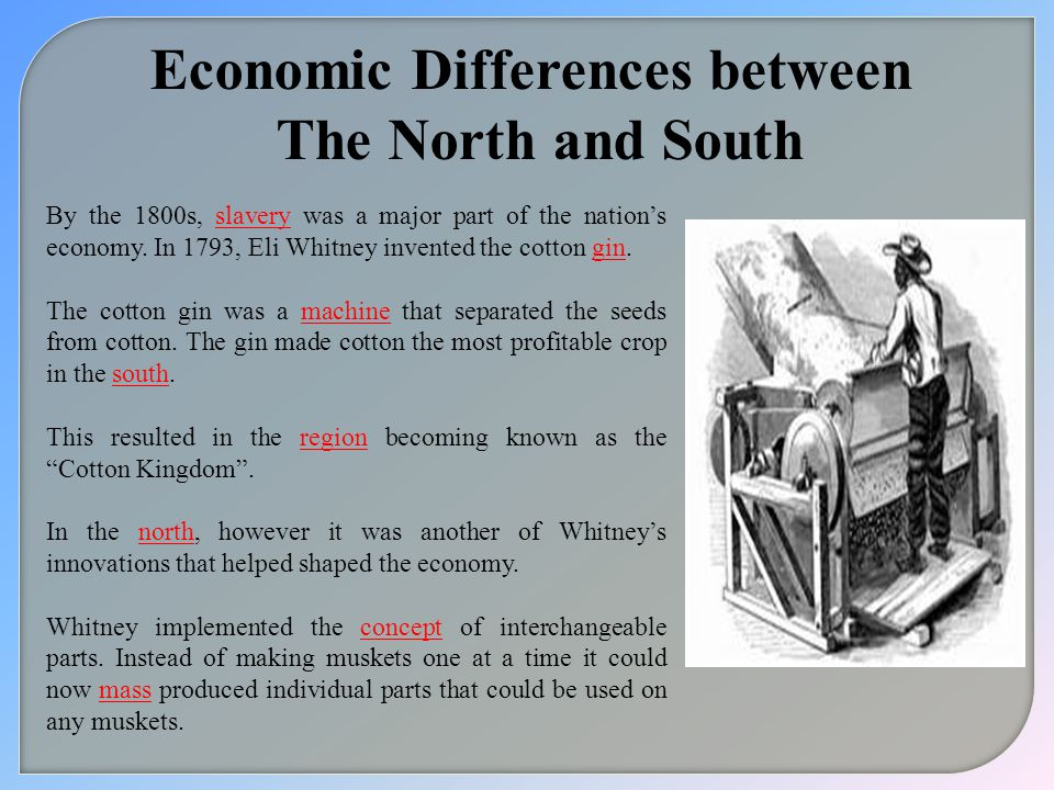 Economic Differences between
