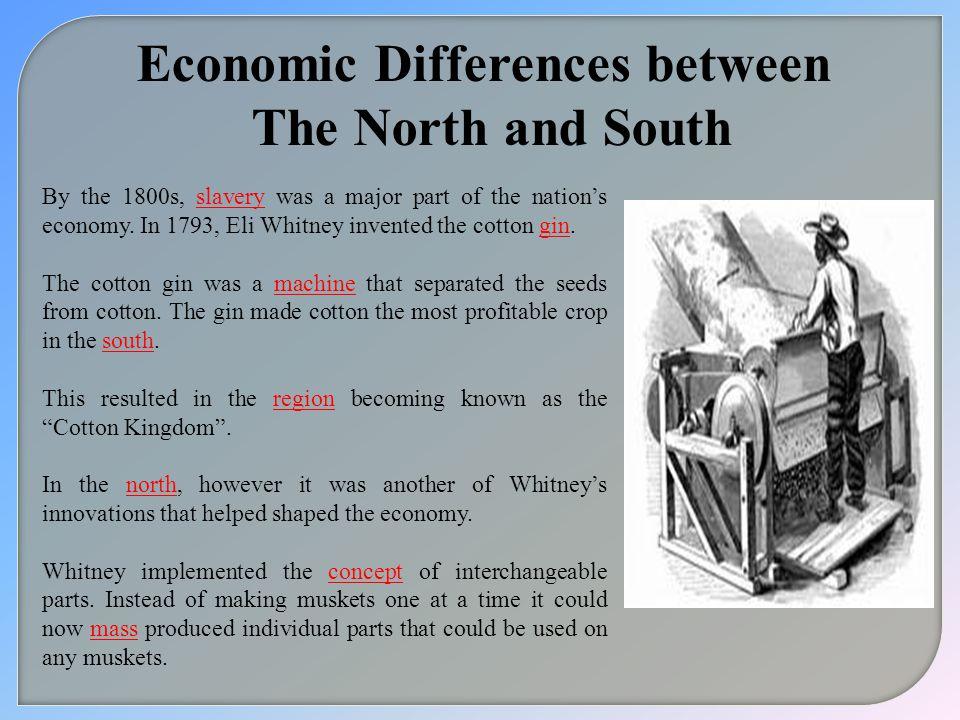 Economic Differences between