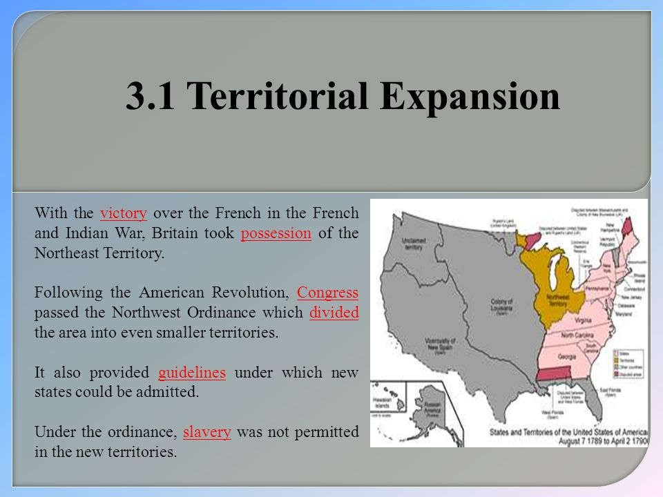 3.1 Territorial Expansion