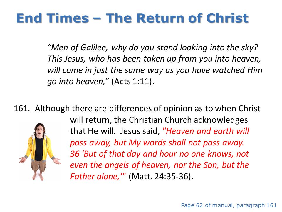 End Times – The Return of Christ