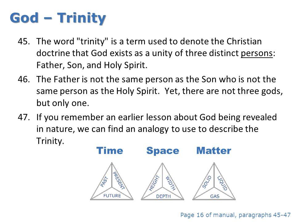 God – Trinity