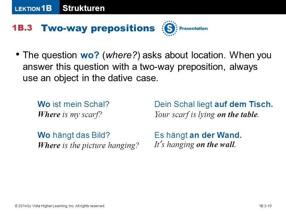 Two-way prepositions